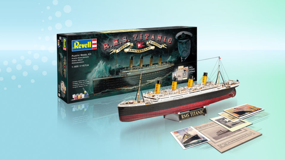 revell toy packaging design oyster studios titanic